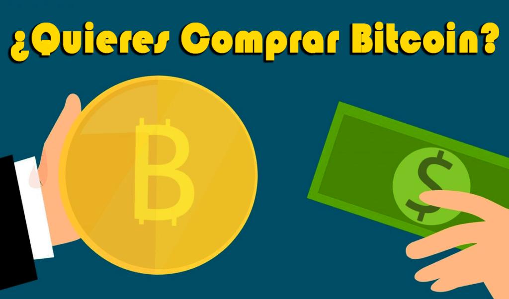 Dónde y Cómo Comprar Bitcoin