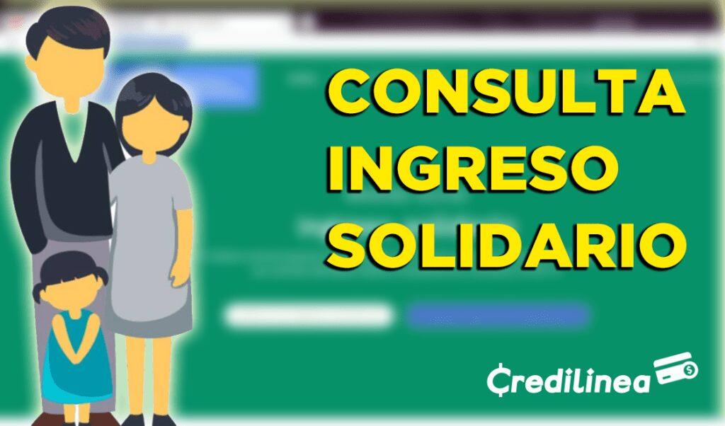 consultar ingreso solidario