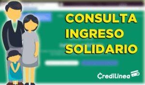 Consultar Ingreso Solidario (SISBEN) Colombia