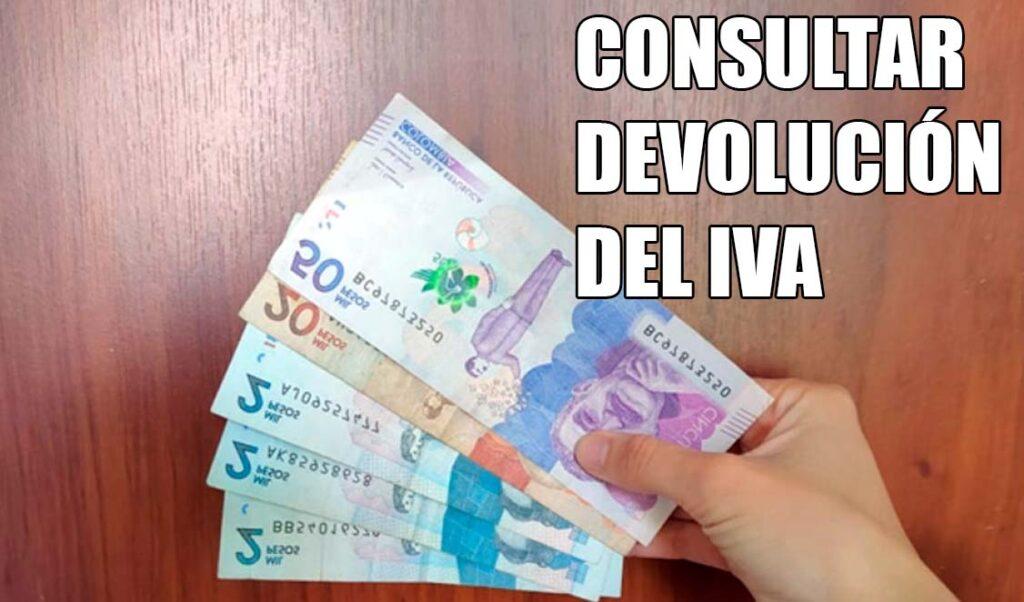 Consultar la devolución del IVA