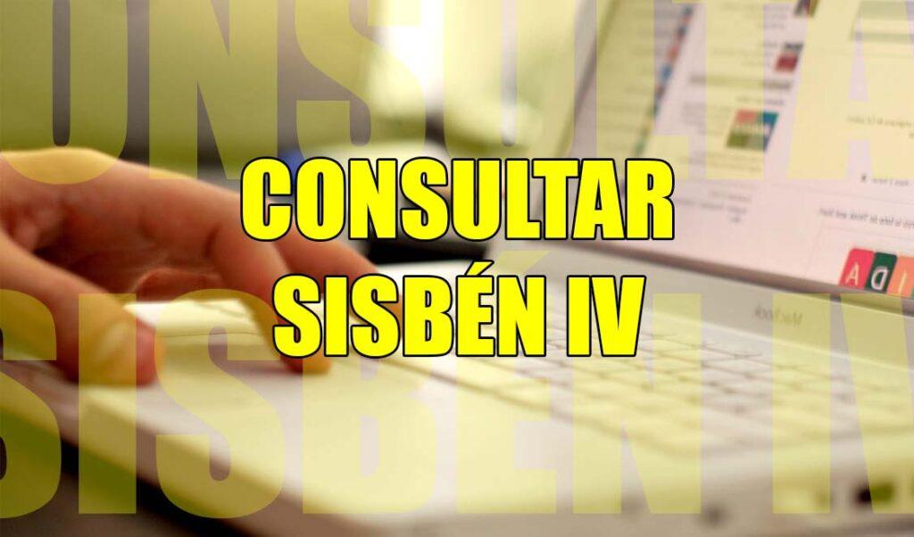 consultar Sisbén IV