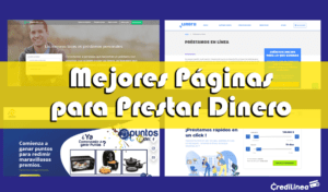 Mejores Páginas en Internet para hacer Préstamos en Línea