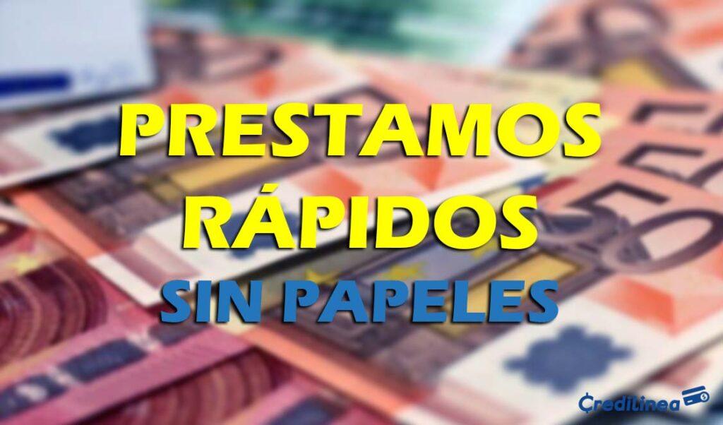 préstamos rápidos online España