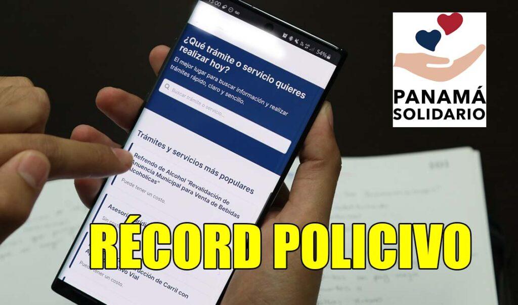 Récord Policivo Panamá