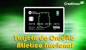 Tarjeta de Crédito Atlético Nacional